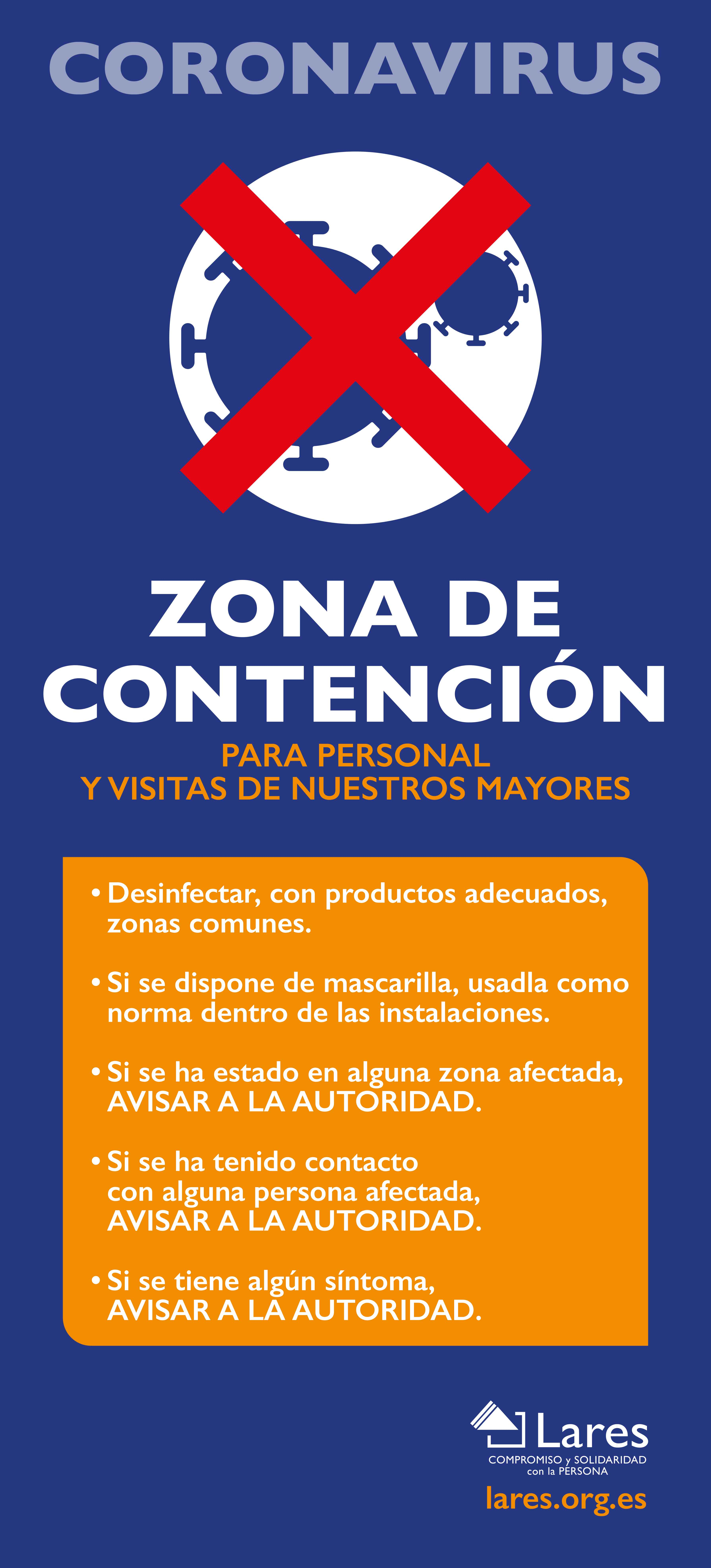 CARTEL CONTENCION
